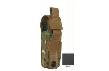 Diamondback Tactical Single Universal Pistol Mag Pouch, Black, A-BLPM08-BLACK