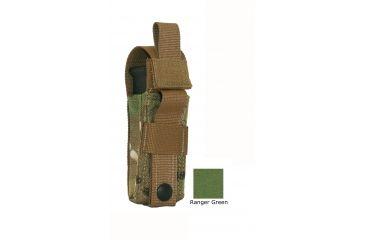 Diamondback Tactical Single Universal Pistol Mag Pouch, Ranger Green, A-BLPM08-RANGERGREEN