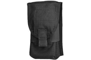 Diamondback Tactical SR25 Double 2 Mag Pouch, Black, A-BLPM18-BLACK