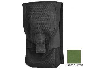 Diamondback Tactical SR25 Double 2 Mag Pouch, Ranger Green, A-BLPM18-RANGERGREEN