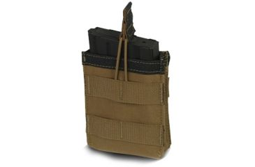 Diamondback Tactical SR25 Single Mag Pouch, Coyote, A-BLPM04-1-COYOTE