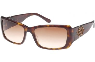 Diva 4141 Sunglasses - Tortoise-Topaz; Gradient Brown Lenses (627)