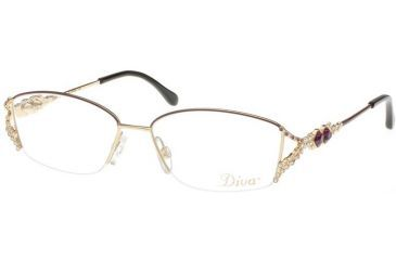 Eyeglass Frames With Swarovski Crystals : Diva Swarovski Crystals Eyeglass Frames 5283 . Diva ...