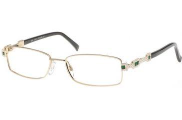 Diva 5290 Eyewear - Gold; Emerald Stones (828)