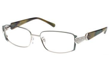 Diva 5393 Eyeglasses - Anthracite-Cognac-Cream Frame w/ Clear Lenses 5393-2TE