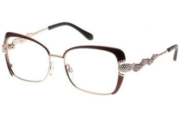 Diva 5394 Eyeglasses - Brown-Gold Frame w/ Clear Lenses 5394-820
