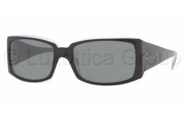 DKNY DY 4056 Sunglasses Styles Black-Ice Frame / Gray Lenses, 336087-5617, DKNY DY 4056 Sunglasses Styles Black-Ice Frame / Gray Lenses
