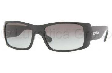 DKNY DY4064 Progressive Prescription Sunglasses DY4064-329011-5617 - Frame Color: Black, Lens Diameter: 56 mm, Frame Color: Black