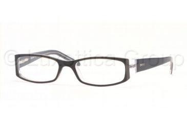 dcfc91f34f DKNY DY 4516 Eyeglasses Styles Black Grey Crystall Frame w Non-Rx