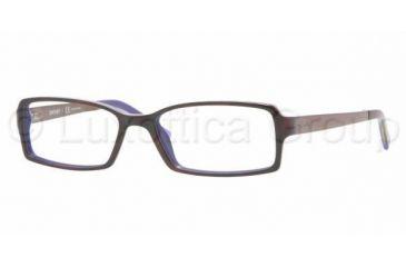 DKNY DY 4596 Eyeglasses Styles Top Havana Violet Frame w/Non-Rx 51 mm Diameter Lenses, 3405-5116