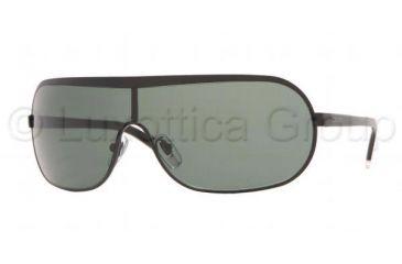 DKNY DY 5033 Sunglasses Styles -  Matte Black Frame / Gray Green Lenses, 100471-0135