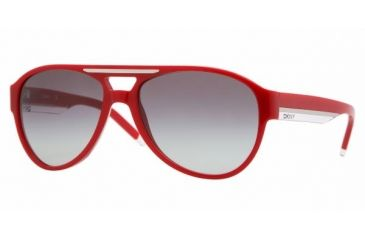 DKNY DY4071 #348811 - Red Gray Gradient Frame