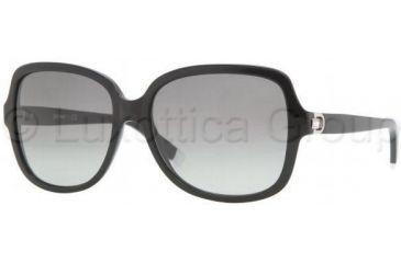 DKNY DY4078B Progressive Prescription Sunglasses DY4078B-300111-5816 - Frame Color: Black, Lens Diameter: 58 mm