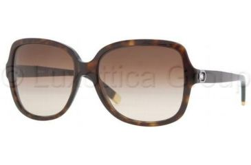 DKNY DY4078B Progressive Prescription Sunglasses DY4078B-301613-5816 - Lens Diameter: 58 mm, Frame Color: Dark Tortoise