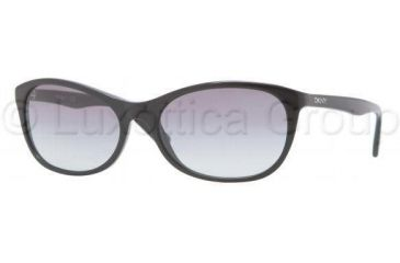 DKNY DY4083 Progressive Prescription Sunglasses DY4083-300111-5617 - Frame Color Black, Lens Diameter 56 mm