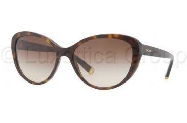 DKNY DY4084 Progressive Prescription Sunglasses DY4084-301613-5716 - Lens Diameter 57 mm, Frame Color Dark Tortoise
