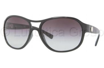 DKNY DY4088 Sunglasses 30018G-6217 - Black Frame, Gray Gradient Lenses