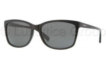 DKNY DY4090 Single Vision Prescription Sunglasses DY4090-300187-5817 - Lens Diameter 58 mm, Frame Color Black