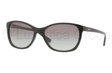 DKNY DY4093 Sunglasses 300111-5617 - Black Frame, Gray Gradient Lenses