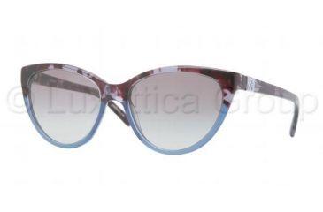 DKNY DY4095 Single Vision Prescription Sunglasses DY4095-355511-5417 - Lens Diameter 54 mm, Frame Color Blue Havana