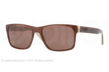 DKNY DY4098 Single Vision Prescription Sunglasses DY4098-339073-55 -