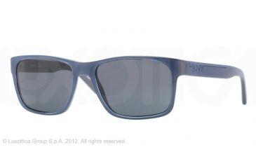 DKNY DY4098 Single Vision Prescription Sunglasses DY4098-356087-55 -