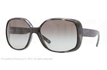 DKNY DY4101 Single Vision Prescription Sunglasses DY4101-358711-61 - Lens Diameter 61 mm, Lens Diameter 61 mm, Frame Color Gray/black