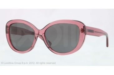 DKNY DY4107 Sunglasses 360387-56 - Pink Frame, Gray Lenses