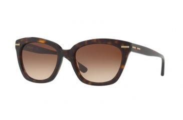 DKNY DY4142 Sonnenbrille Schwarz / Weiß 372087 53mm J2wl4E