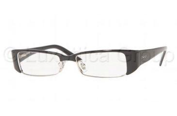DKNY DY4570 Eyeglasses Styles Black Frame w/Non-Rx 51 mm Diameter Lenses, 3290-5115