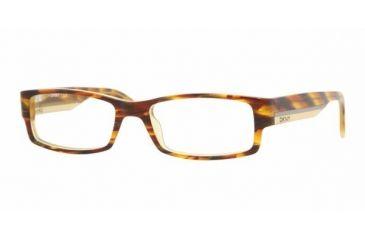 DKNY DY4602 #3461 - Striped Havana Honey Frame