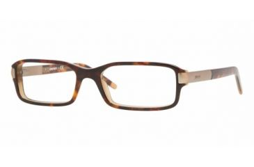 DKNY DY4604 #3456 - Top Havana On Hazelnut Demo Lens Frame