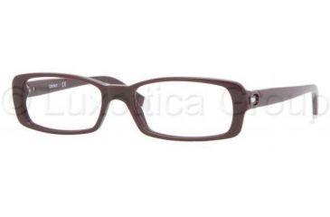 DKNY DY4610B Single Vision Prescription Eyewear 3510-5116 - Eggplant