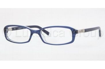 DKNY DY4617 Single Vision Prescription Eyewear 3518-5216 - Transparent Blue
