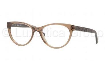 DKNY DY4628 Bifocal Prescription Eyeglasses 3563-5017 - Hazelnut Frame, Demo Lens Lenses