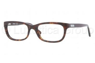 DKNY DY4635 Single Vision Prescription Eyeglasses 3016-5018 - Dark Tortoise Frame