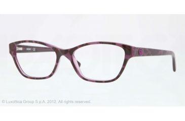 475c448c65 DKNY DY4644 Eyeglass Frames 3616-51 - Top Leopard On Violet Tr Frame
