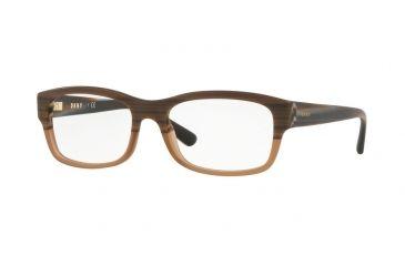4684ca631d DKNY DY4684 Progressive Prescription Eyeglasses 3757-53 - Matte Light Brown  Horn Frame