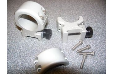 DNZ Products Freedom Reaper 2 Pc. 1in Medium Mount, Silver 142PTS
