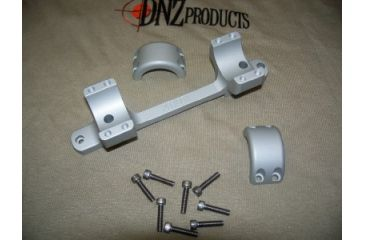 DNZ Products Freedom Reaper Tactical 1in Medium Mount, Silver 20700TS