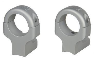 DNZ Products Hunt Masters Two Piece Mounts Howa/Mossberg/Remington 700 2 Screws One Inch High Silver