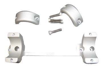 DNZ Products Savage 93R17-High Mount-Silver 45200HS