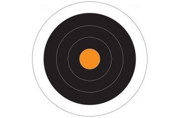 Do All Outdoors Paper Target, 10Pk, Circle Dot, 10x10 PT6