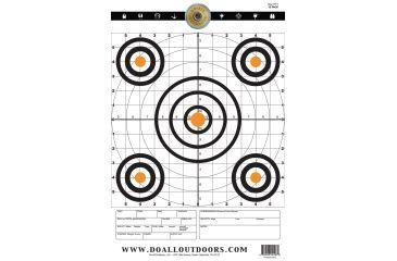 Do All Outdoors Paper Target, 10Pk, Range, 12x18 PT11