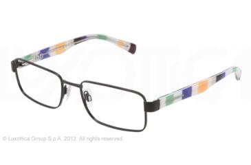 Dolce&Gabbana CONTRAST DG1238P Prescription Eyeglasses 1237-52 - Matte Black Frame