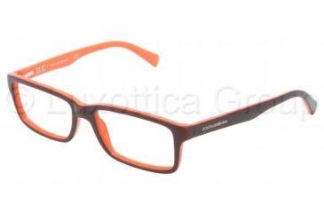 Dolce&Gabbana CONTRAST DG3148P Single Vision Prescription Eyeglasses 2632-5316 - Dark Steel Frame