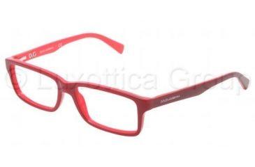 Dolce&Gabbana CONTRAST DG3148P Single Vision Prescription Eyeglasses 2633-5516 - Dark Steel Frame