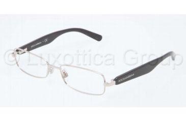 Dolce&Gabbana D&G ALL OVER DG1234P Single Vision Prescription Eyeglasses 1199-5116 - Silver Frame