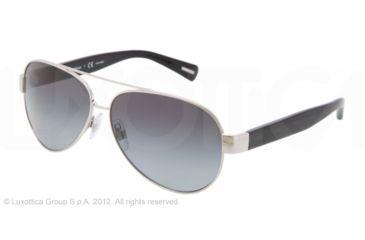 Dolce&Gabbana D&G ALL OVER DG2118P Single Vision Prescription Sunglasses DG2118P-1194T3-60 - Lens Diameter 60 mm, Lens Diameter 60 mm, Frame Color Silver