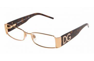 Dolce&Gabbana DG 1143B Eyeglasses Styles - Gold Green Frame w/Non-Rx 51 mm Diameter Lenses, 207-5116